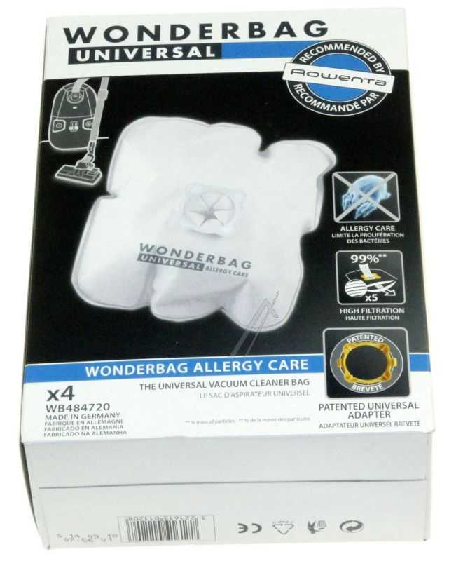 WONDERBAG ALLERGY CARE SAC ASPIRATEUR ALLERGY CARE WB484720